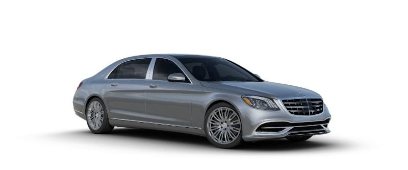 2018 Mercedes-Maybach in Iridium Silver Metallic