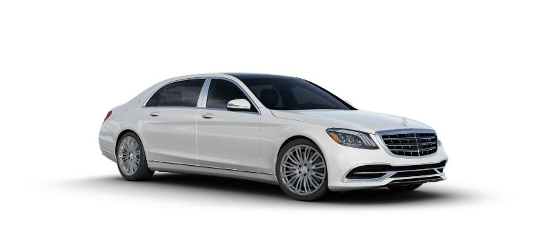 2018 Mercedes-Maybach in designo Diamond White Metallic