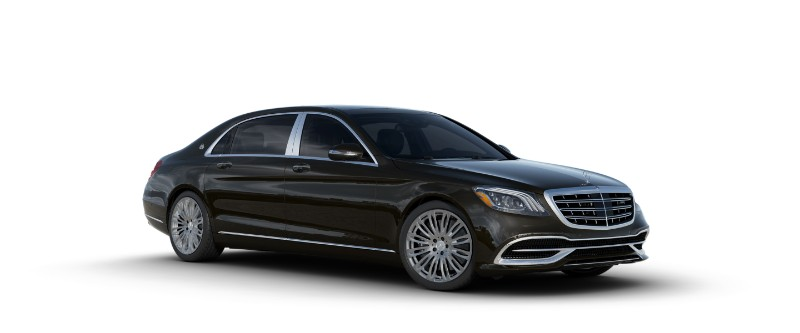 2018 Mercedes-Maybach in designo Mocha Black Metallic