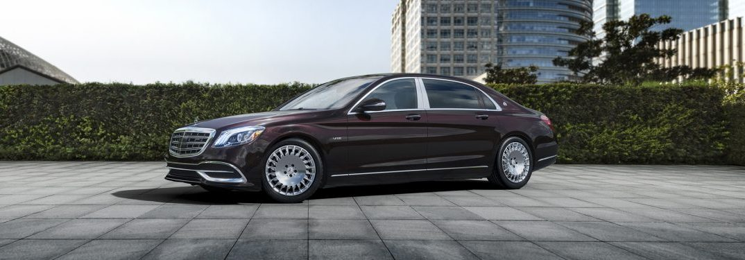 What colors does the powerful Mercedes-Maybach come in?