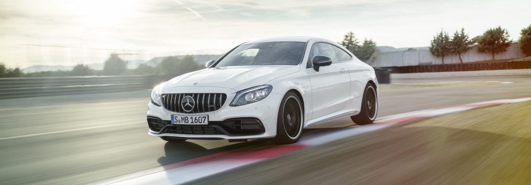 2019 Mercedes-AMG C63 S Coupe (European model shown)