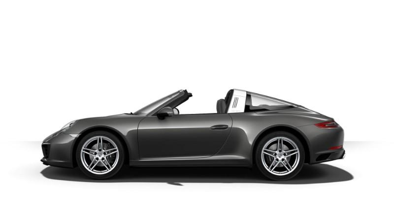 2018 Porsche 911 Targa 4 Agate Gray Metallic