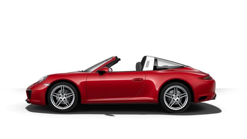 2018 Porsche 911 Targa 4 Carmine Red
