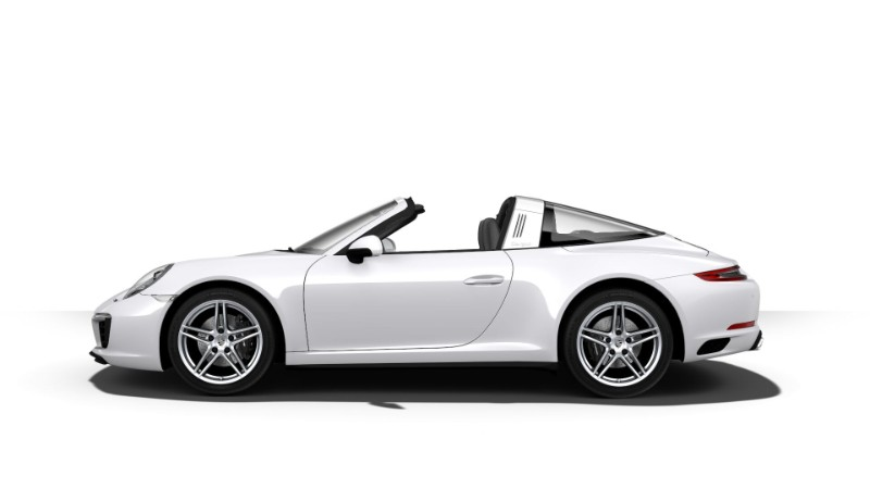 2018 Porsche 911 Targa 4 Carrara White Metallic