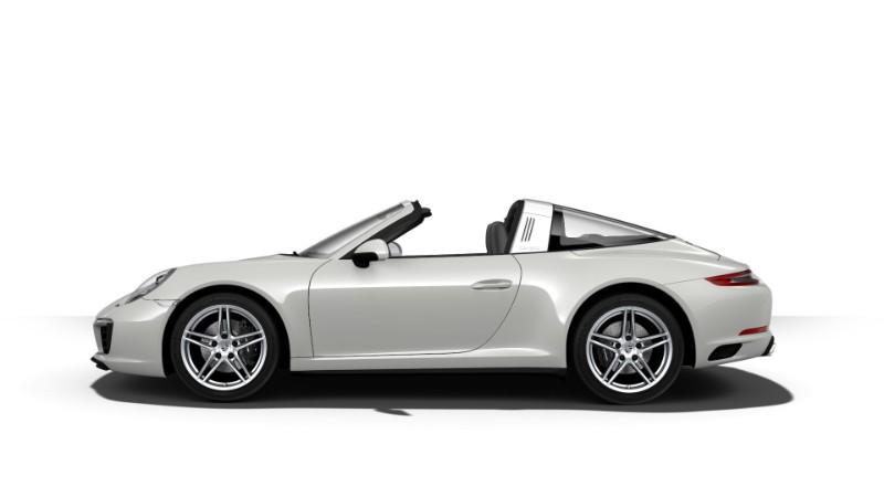 2018 Porsche 911 Targa 4 Chalk