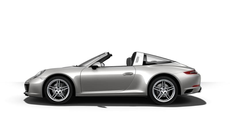 2018 Porsche 911 Targa 4 GT Silver Metallic