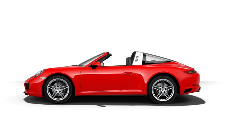 2018 Porsche 911 Targa 4 Guards Red