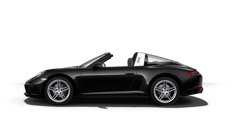 2018 Porsche 911 Targa 4 Jet Black Metallic