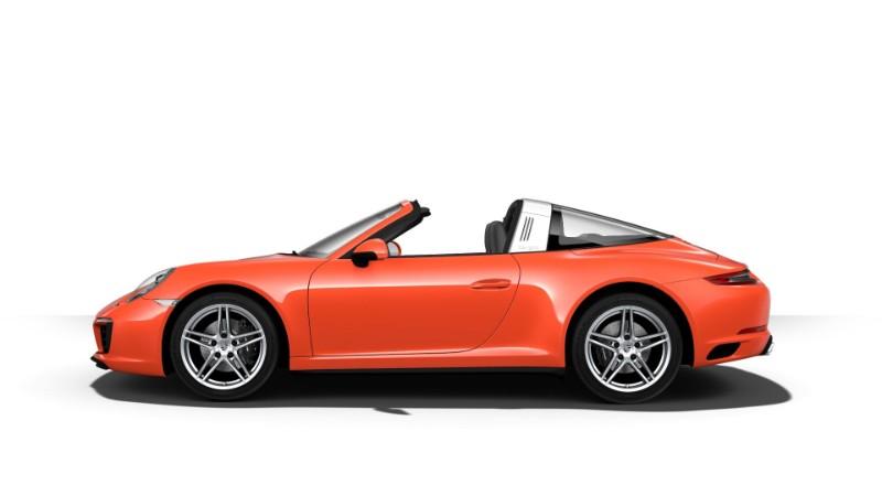 2018 Porsche 911 Targa 4 Lava Orange