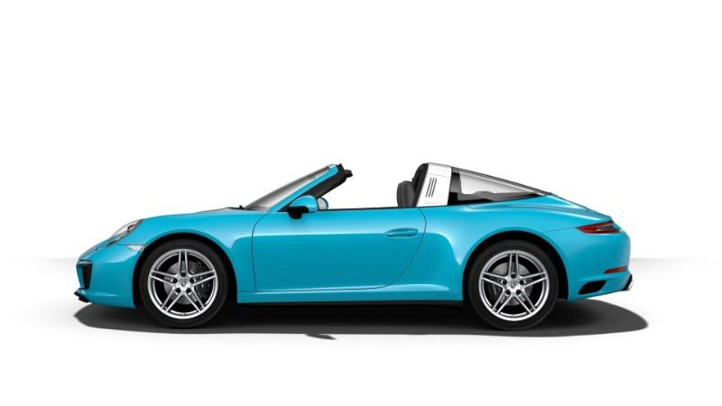 2018 Porsche 911 Targa 4 Miami Blue