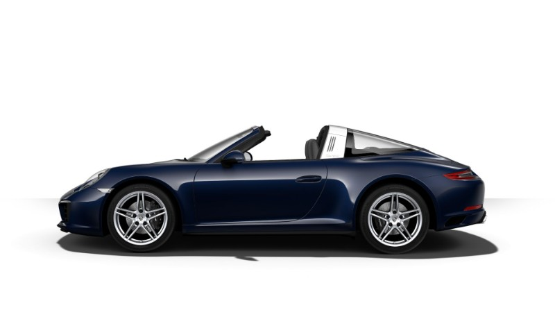 2018 Porsche 911 Targa 4 Night Blue Metallic