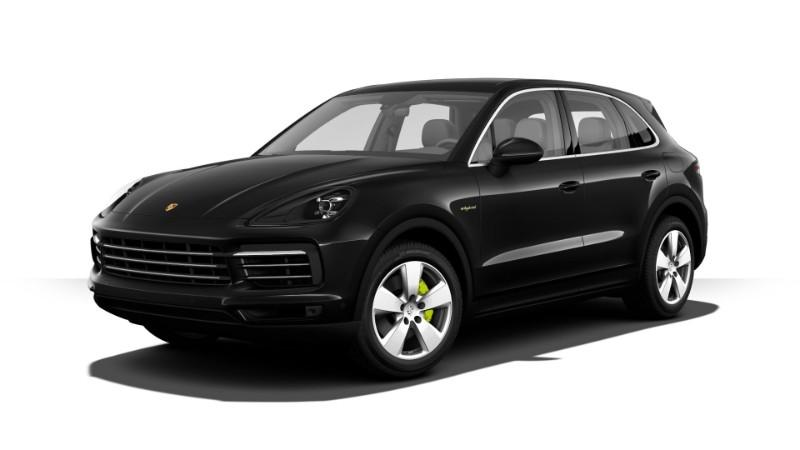 2018 Porsche Cayenne E-Hybrid Jet Black Metallic