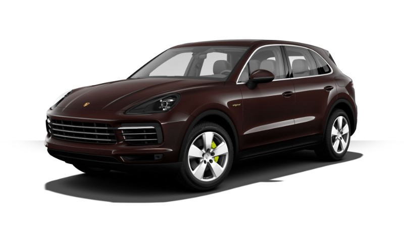 2018 porsche cayenne e hybrid exterior color options. Black Bedroom Furniture Sets. Home Design Ideas