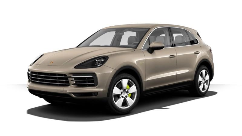 2018 Porsche Cayenne E-Hybrid Palladium Metallic