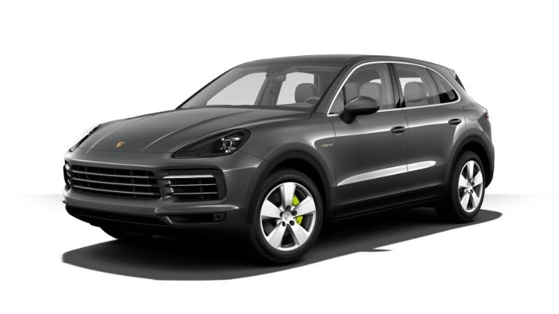 2018 Porsche Cayenne E-Hybrid Quartzite Grey Metallic