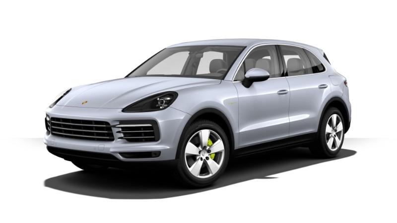 2018 Porsche Cayenne E-Hybrid Rhodium Silver Metallic