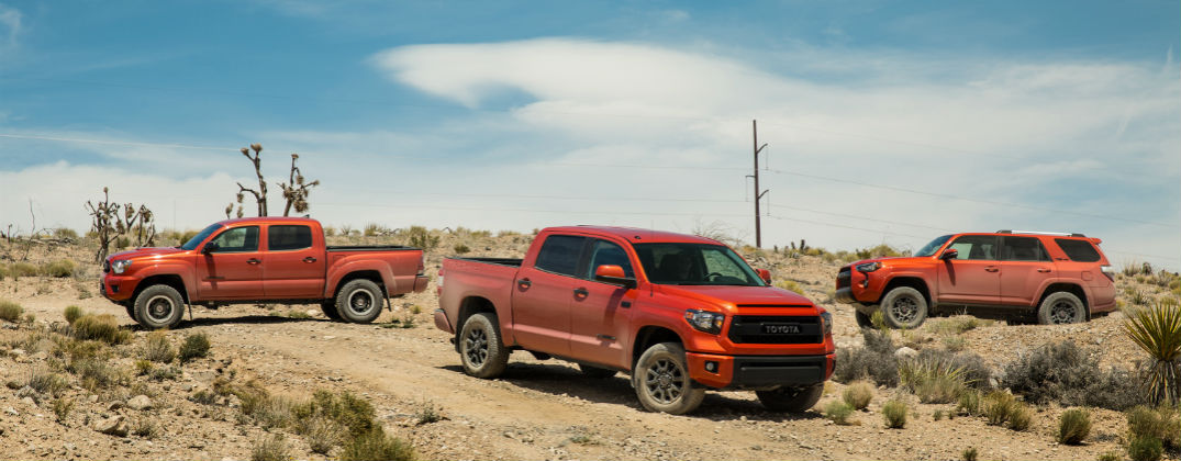Tundra Off Road >> 2015 Toyota TRD Pro Off-Road Models and Features