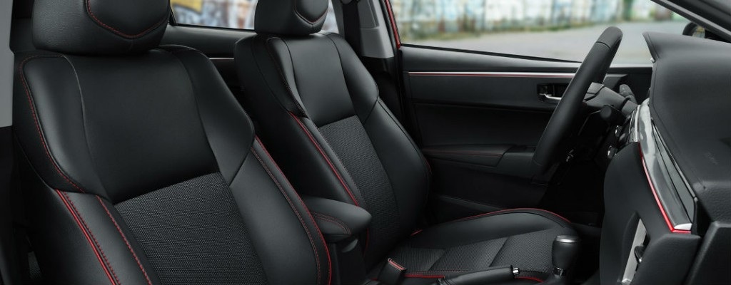 What is Toyota SofTex Upholstery?
