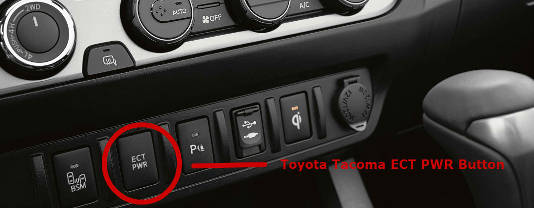 Buick Enclave Rear Center Console >> Benefits of the Toyota Tacoma ECT PWR Button