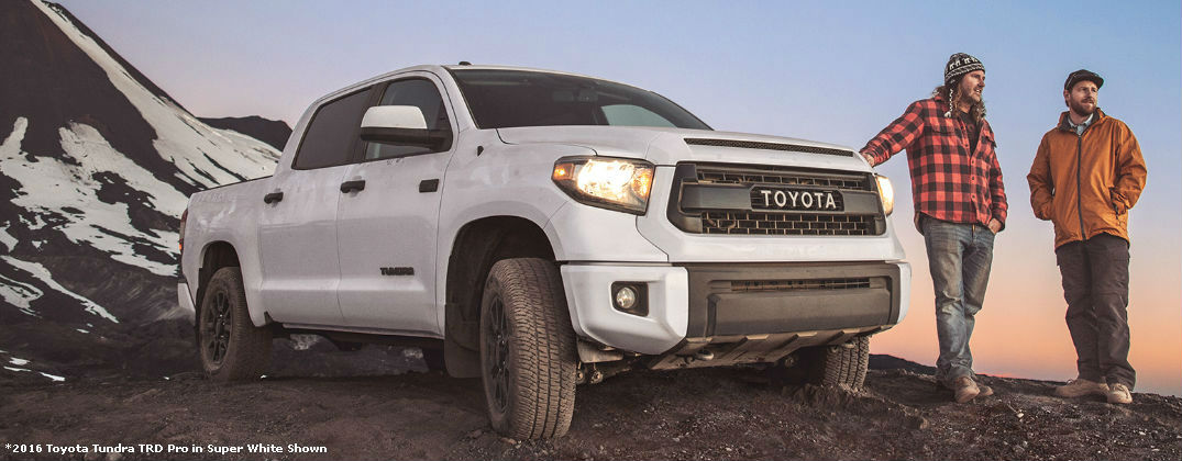 ... Super White 2016 Toyota Tundra TRD Pro On The Mountain