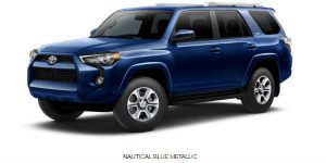 What Are The 2017 Toyota 4runner Exterior Color Options White River Toyota