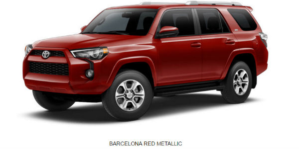 What Are the 2017 Toyota 4Runner Exterior Color Options?