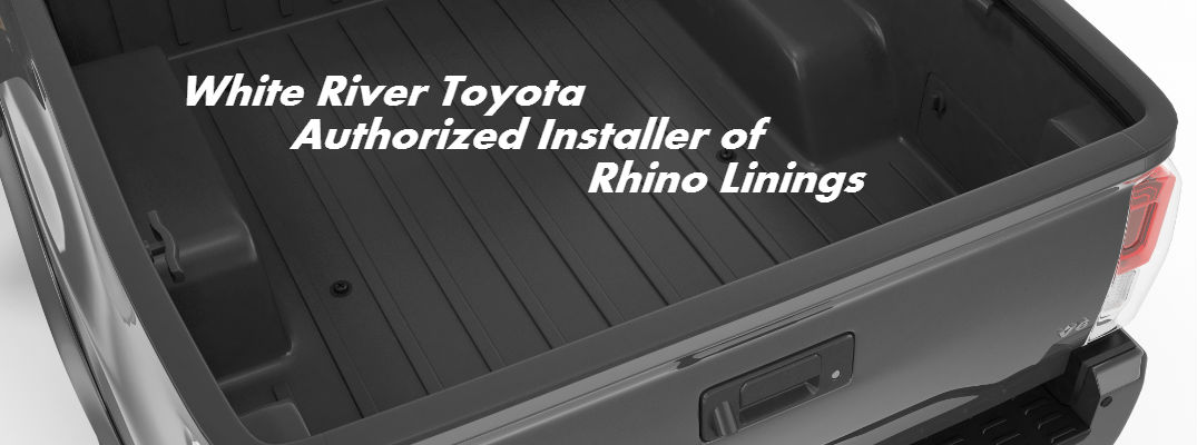 you river installer o is liners linings authorized toyota installed where of bed rhino liner white blog truck can get