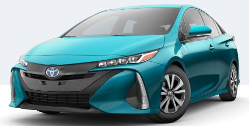 2018 Toyota Prius Prime Exterior Color Choices
