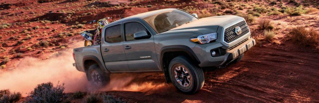 2018 Toyota Tacoma Color Options