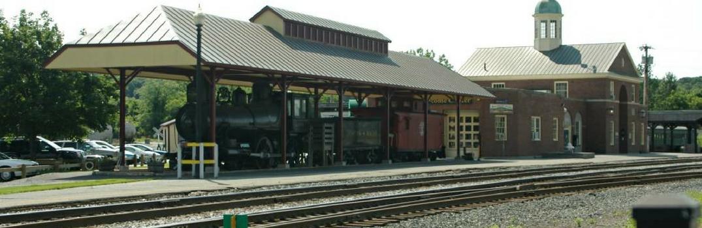 Train station at White River Junction, VT