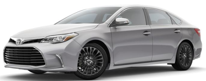 2018 Toyota Avalon Color Options
