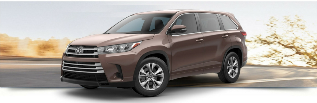 2018 Toyota Highlander Color Options