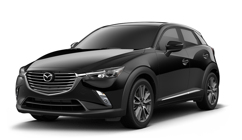 2018 Mazda Cx 3 Jet Black Mica Side View O Royal South Mazda