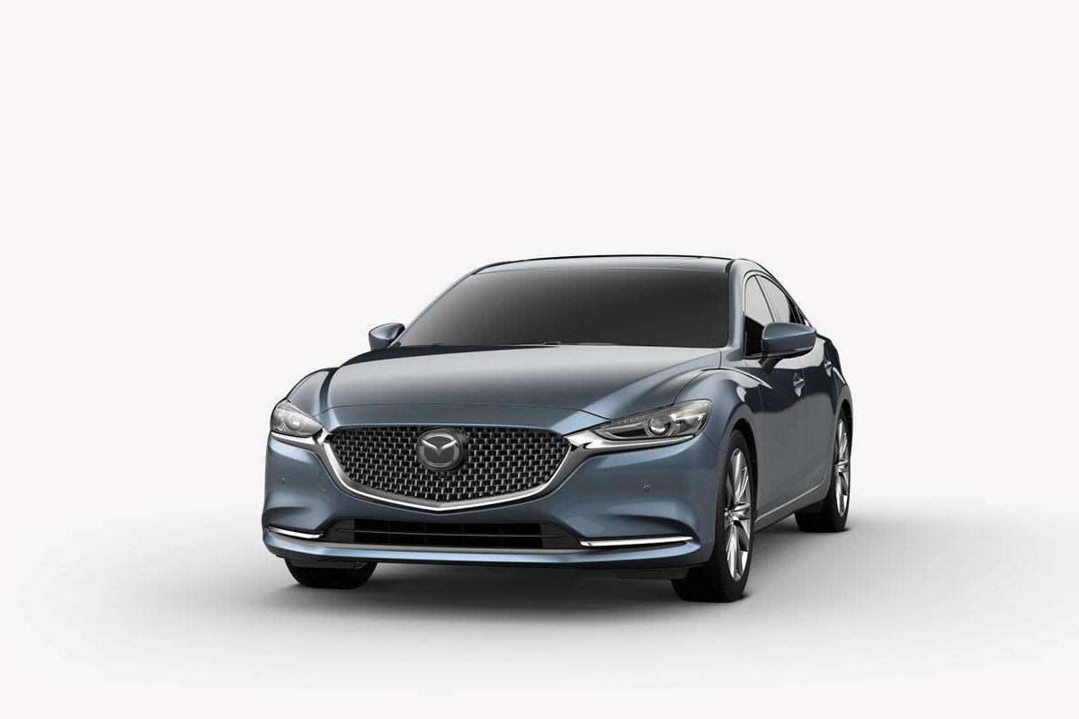 2018 Mazda6 in Blue Reflex Mica