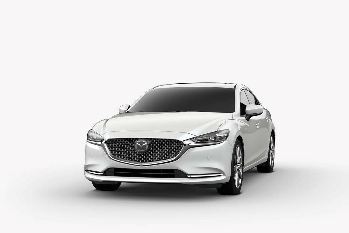 2018 Mazda6 in Snow Flake Mica