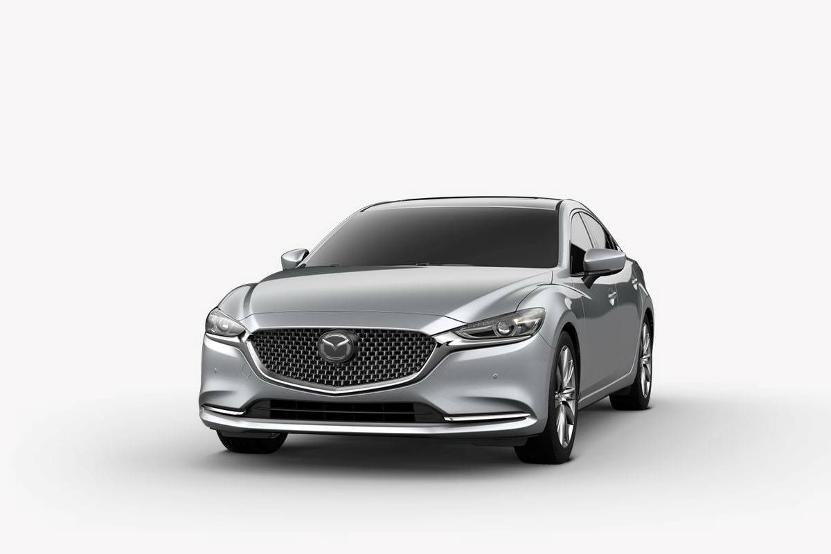 2018 Mazda6 in Sonic Silver Metallic