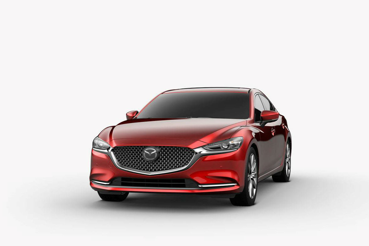 2018 Mazda6 in Deep Red Crystal