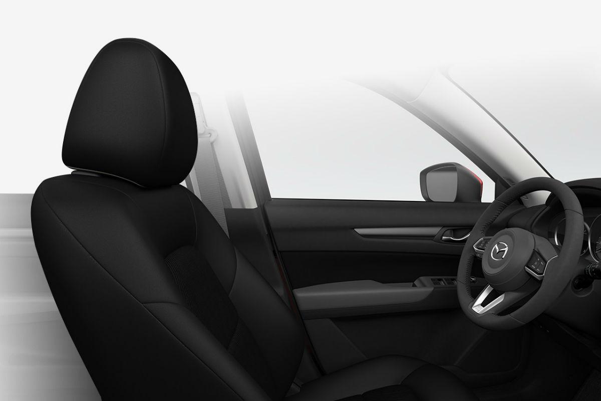 2018 Mazda CX-5 interior in Black Cloth
