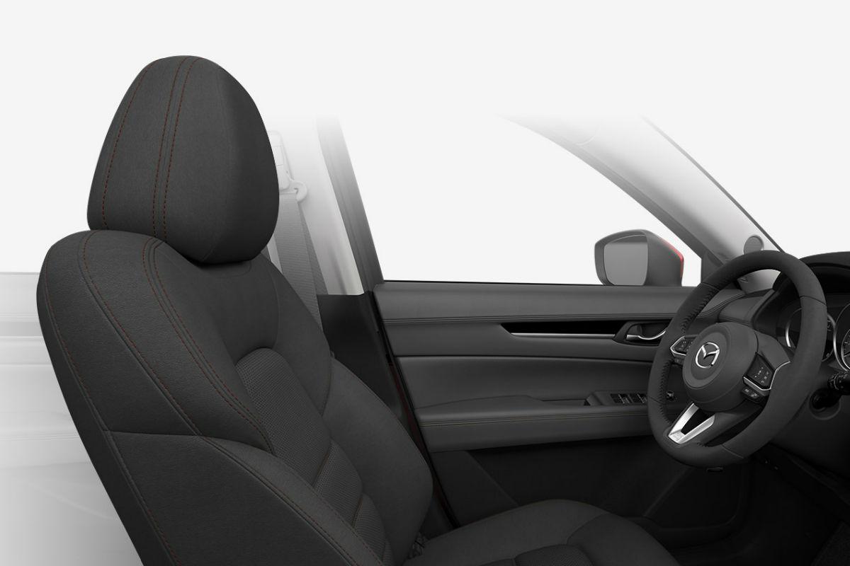 2018 Mazda CX-5 interior in Black Leather