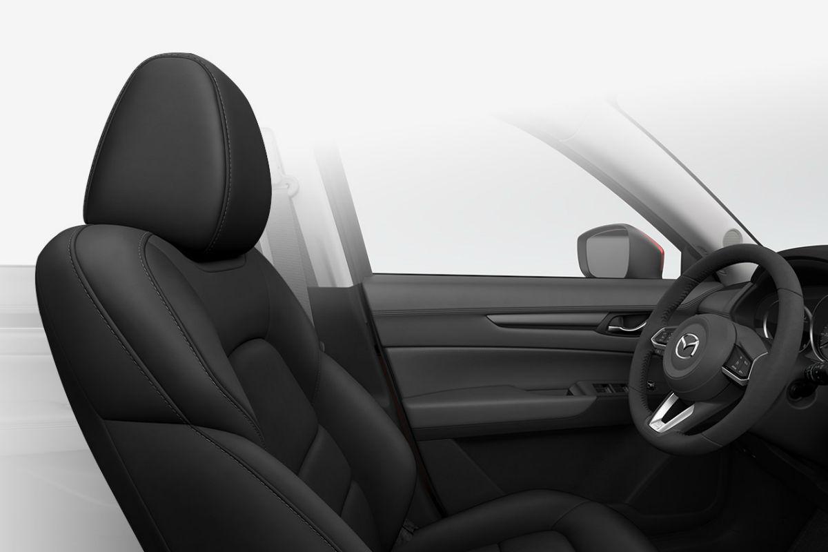 2018 Mazda CX-5 interior in Black Leatherette