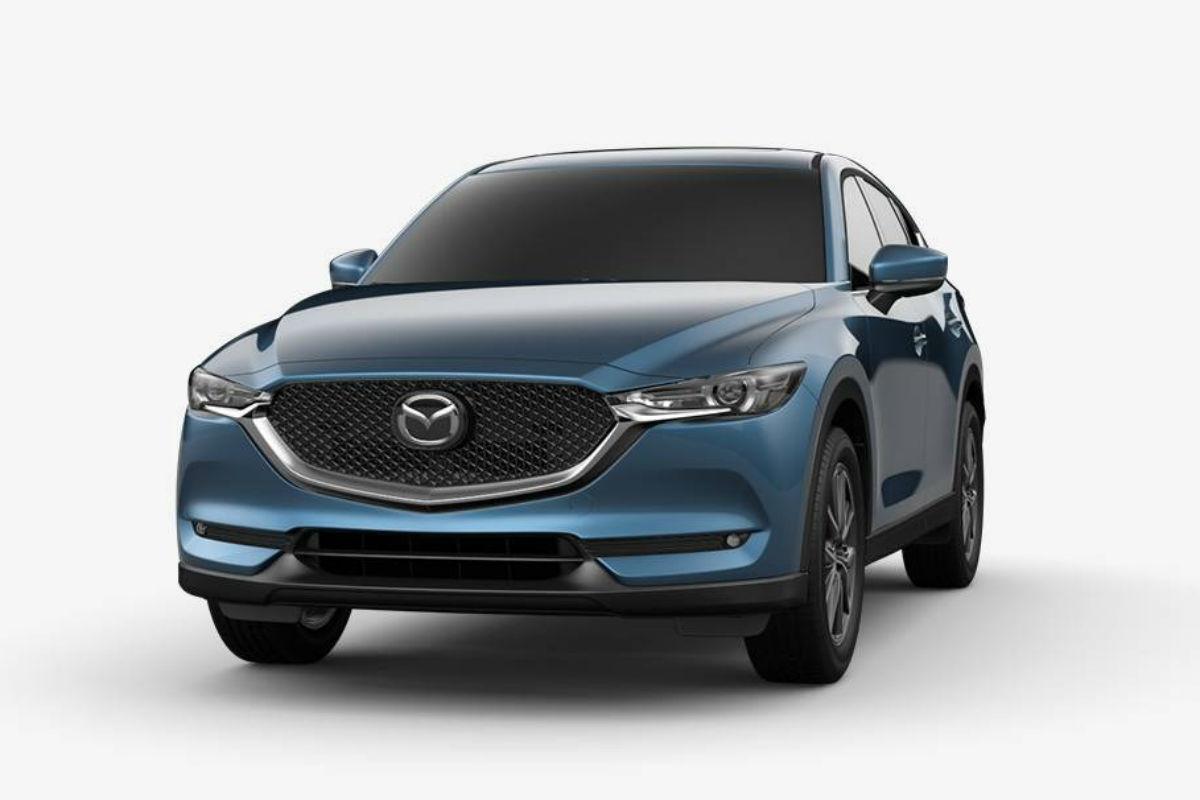 2018 Mazda CX-5 in Eternal Blue Metallic