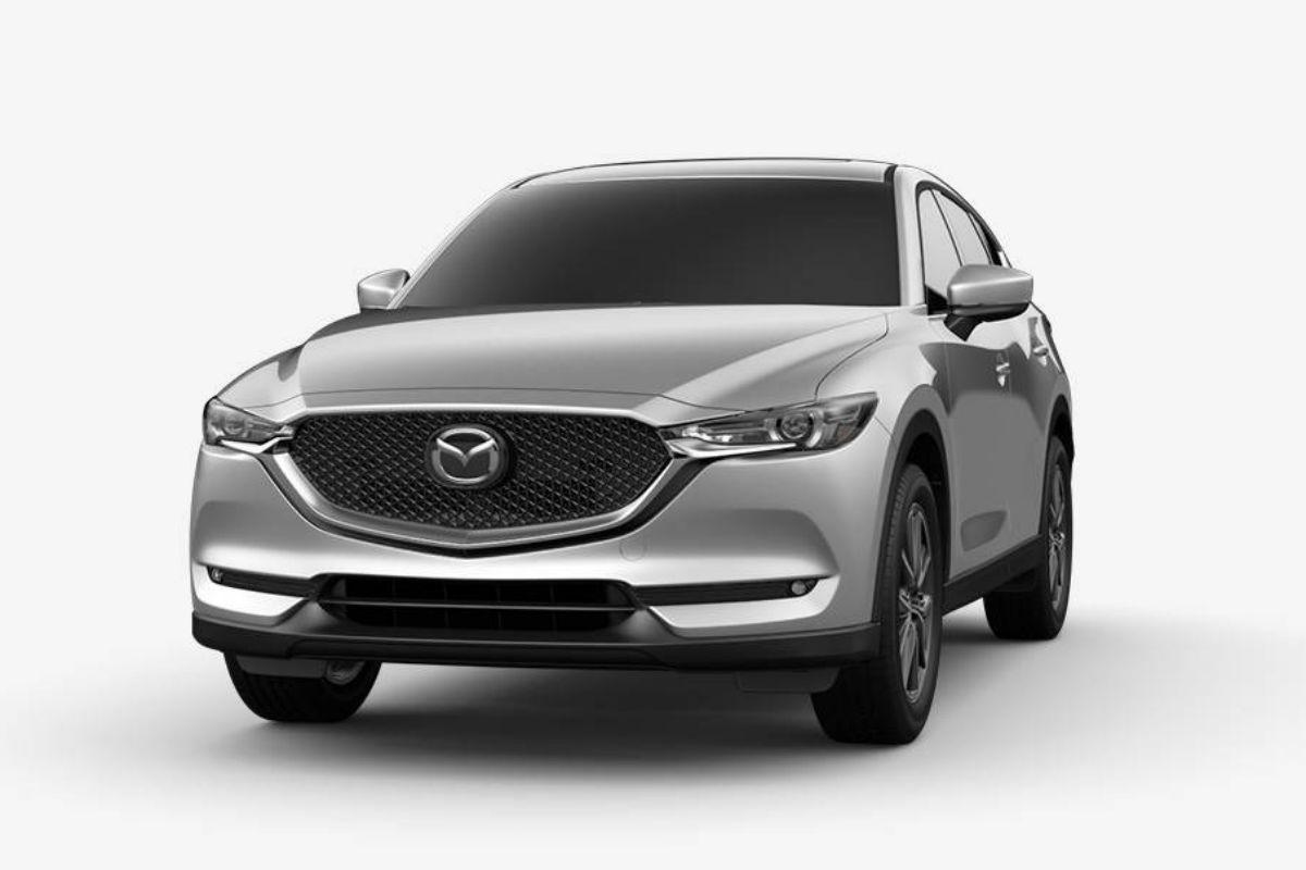 2018 Mazda CX-5 in Sonic Silver Mica