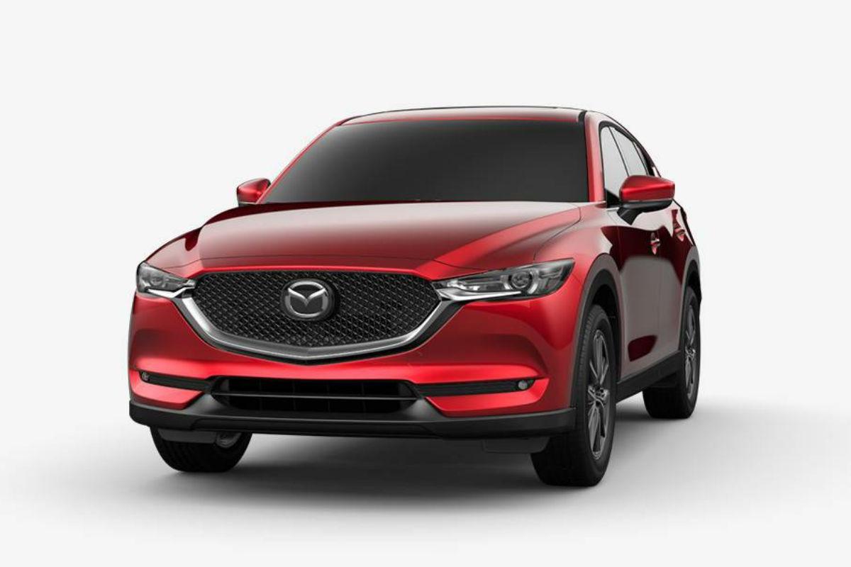 2018 Mazda CX-5 in Soul Red Metallic