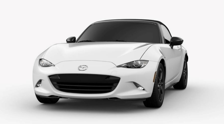 2019 Mazda MX-5 Miata in Arctic White