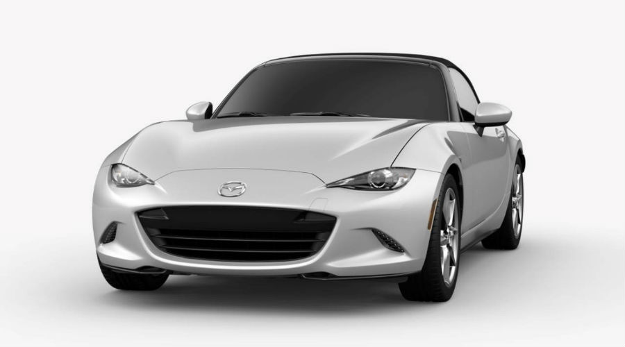 2019 Mazda MX-5 Miata in Ceramic Metallic