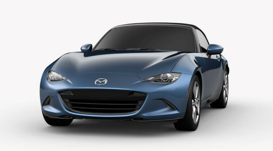 2019 Mazda MX-5 Miata in Eternal Blue Metallic