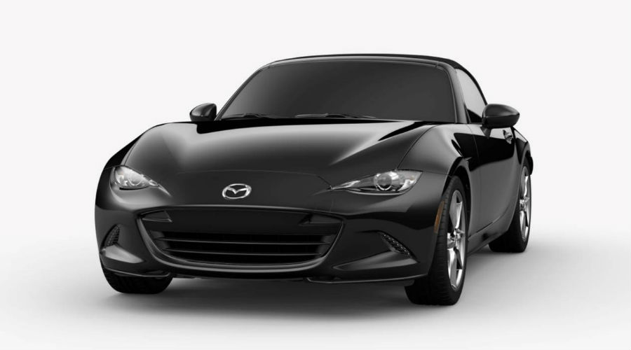 2019 Mazda MX-5 Miata in Jet Black Mica