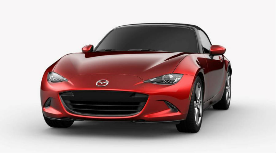 2019 Mazda MX-5 Miata in Soul Red Crystal Metallic