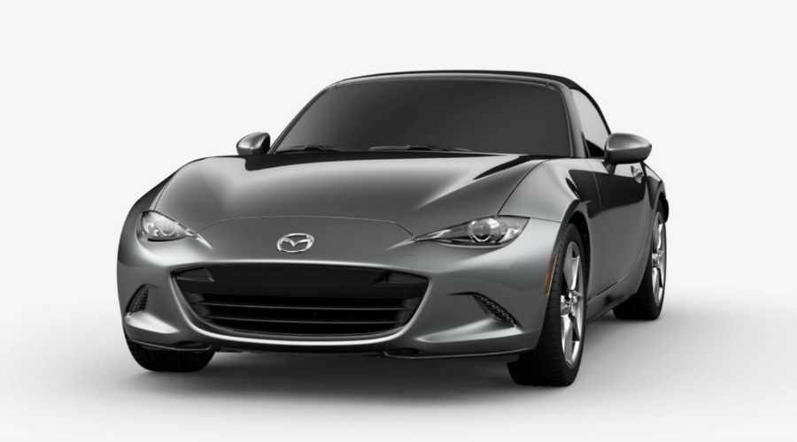 2019 Mazda MX-5 Miata in Machine Gray Metallic