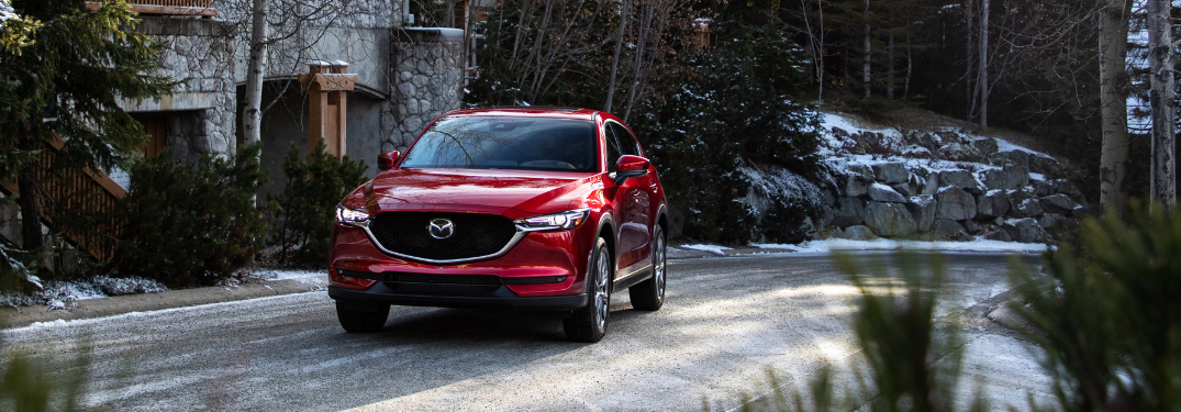 Active safety technology in the 2020 Mazda CX-5